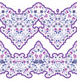 seamless arabic patterns for border vector image vector image