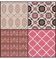 Set of vintage tiles backgrounds vector | Price: 1 Credit (USD $1)
