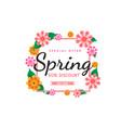 spring frame sale vector image vector image