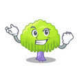 successful drawing of willow tree shape cartoon vector image