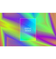 blurred holographic background gradient flash vector image