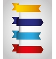 Bookmark icons vector image vector image