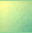 fresh summer lime polygonal background vector image vector image