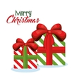 gifts christmas presents decoration icon vector image vector image