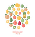 healthy food background healthy food background vector image vector image