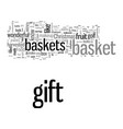 how to make gift baskets christmas gift basket vector image vector image