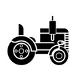 tractor icon sign o vector image vector image