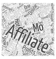 What s Hot in Making Money Online Word Cloud vector image vector image