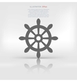 wheel web icon vector image