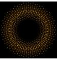 Bright orange glowing beams vector image vector image