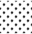 clover leaf pattern vector image vector image