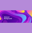 colorful abstract purple background pattern vector image