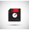 colorful retro diskette design vector image vector image