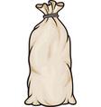 Grain in burlap sacks