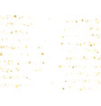 magic gold sparkle texture star background vector image vector image