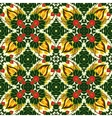 mosaic background ceramic tiles majolica vector image vector image