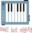 Small But Mighty vector image vector image