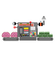 brains and money Production of money from vector image