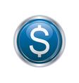 Dollar icon vector image vector image