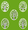 Gree Tree Of Life icon vector image
