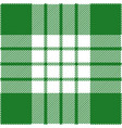 green and white tartan plaid scottish pattern vector image vector image