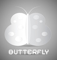 Paper Butterfly vector image