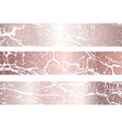 rose gold marble background rose gold vector image vector image