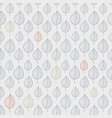 seamless leaf pattern on a beige background vector image vector image
