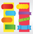 Set of Colorful Banners EPS10 vector image vector image