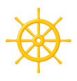 ships wheel icon vector image