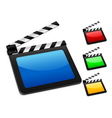 3d digital film slate vector | Price: 1 Credit (USD $1)