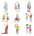 Adult Couples In Love vector image vector image