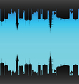 city color vector image vector image