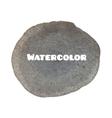 Dark gray spot Abstract stylish watercolor vector image vector image