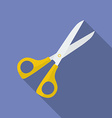 Icon of Scissors Flat style vector image vector image