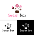 sweetshop confectionary cake store donuts desserts vector image