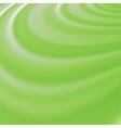 Abstract Glowing Green Waves vector image vector image