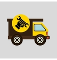 construction gear icon hand wrench vector image vector image