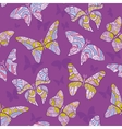 Decorative flying butterfly vector image vector image