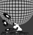 discoball vector image vector image