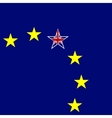 European Union and Great Britain flags concept vector image