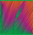 hand drawn abstract black thin lines on colorful vector image
