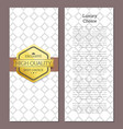 luxury choice golden offer premium quality label vector image vector image