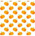 orange squash fresh vegetable seamless pattern vector image vector image