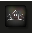 Simplistic real estate icon vector | Price: 1 Credit (USD $1)