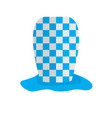 textured traditional oktoberfest hat vector image vector image
