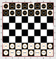 chess sign and icon vector image