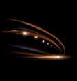 dynamic lights in dark vector image