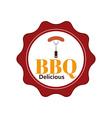 BBQ icon vector image