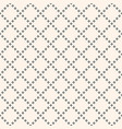 geometric seamless pattern with diamond shapes vector image vector image